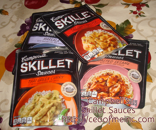 Cambells Skillet Sauces
