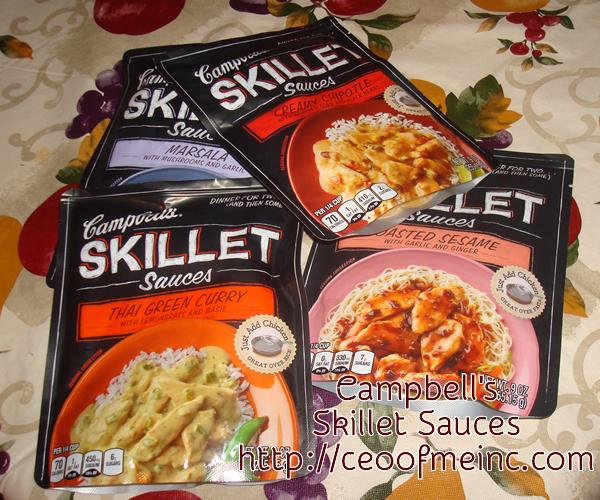 Cambells Skillet Sauces
