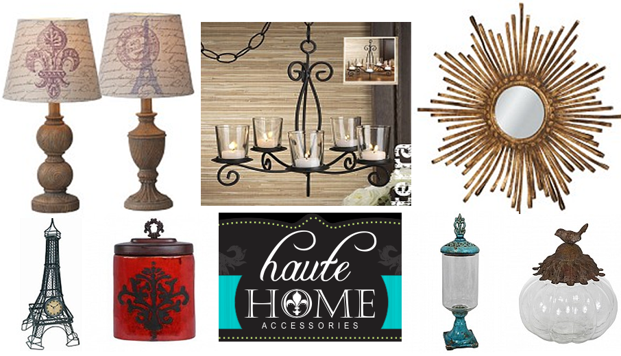 Fabulous decor from haute home accessories for Home decor accessories
