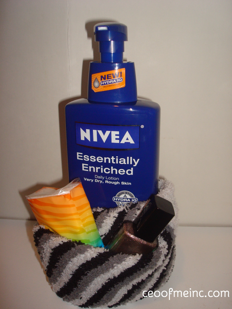 Me Time Pampered Gift Idea with NIVEA Lotion
