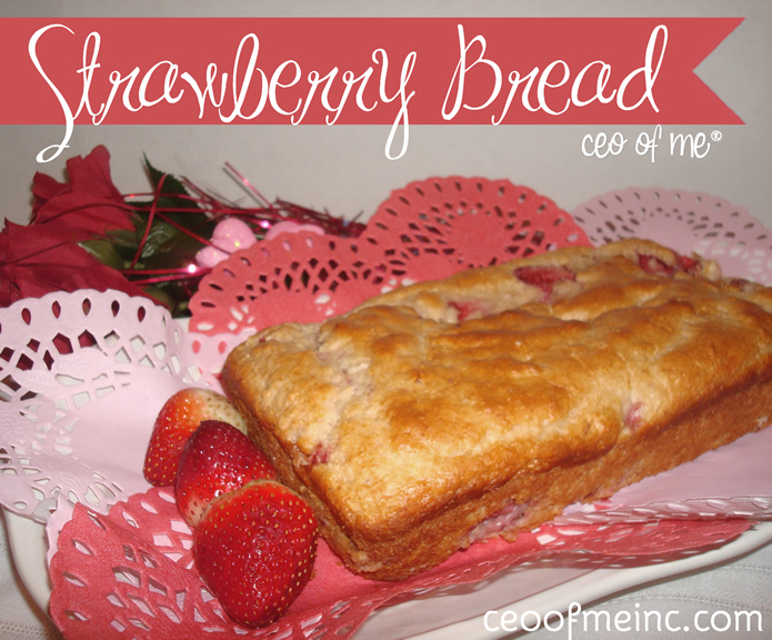 Easy Homemade 5 Ingredient Strawberry Bread or Muffin Recipe