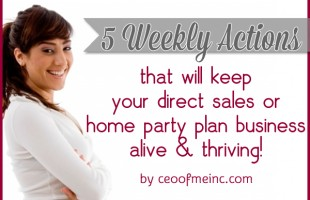 Direct Sales Success Tips - Keep your business alive and thriving!