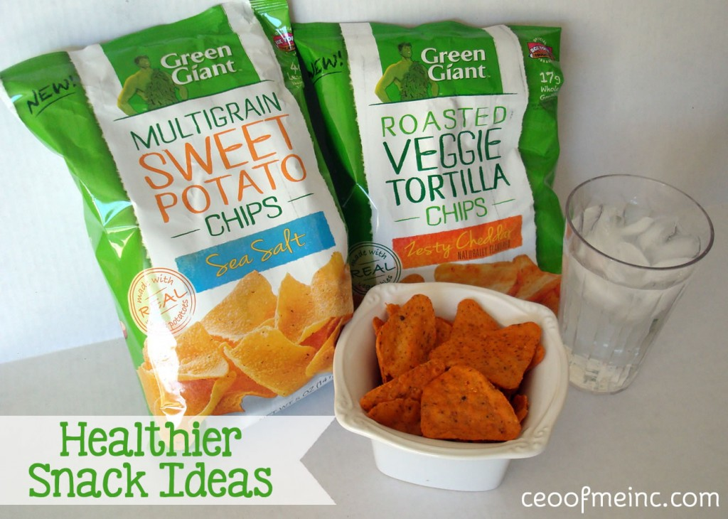 Green Giant's new Veggie Snack Chips & Other Healthy Snack Options