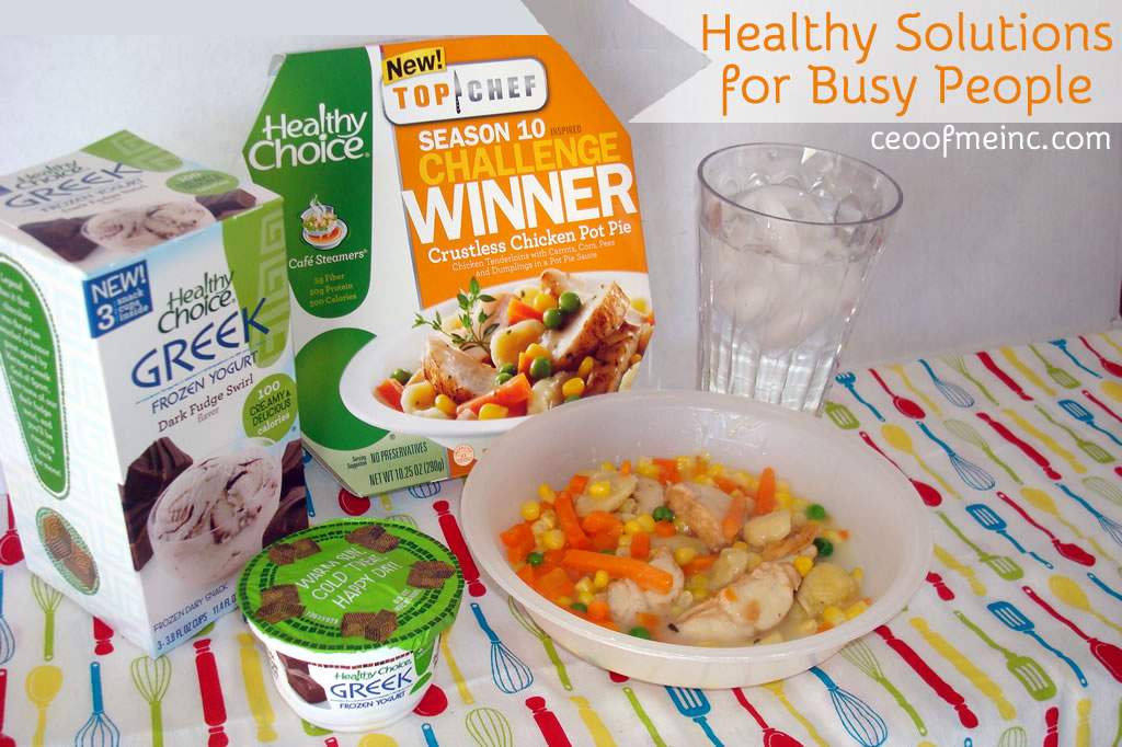 Healthy Choice Meals and Snacks are a Healthy Solution for Busy People