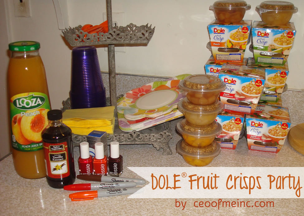 DOLE Fruit Crisps Party