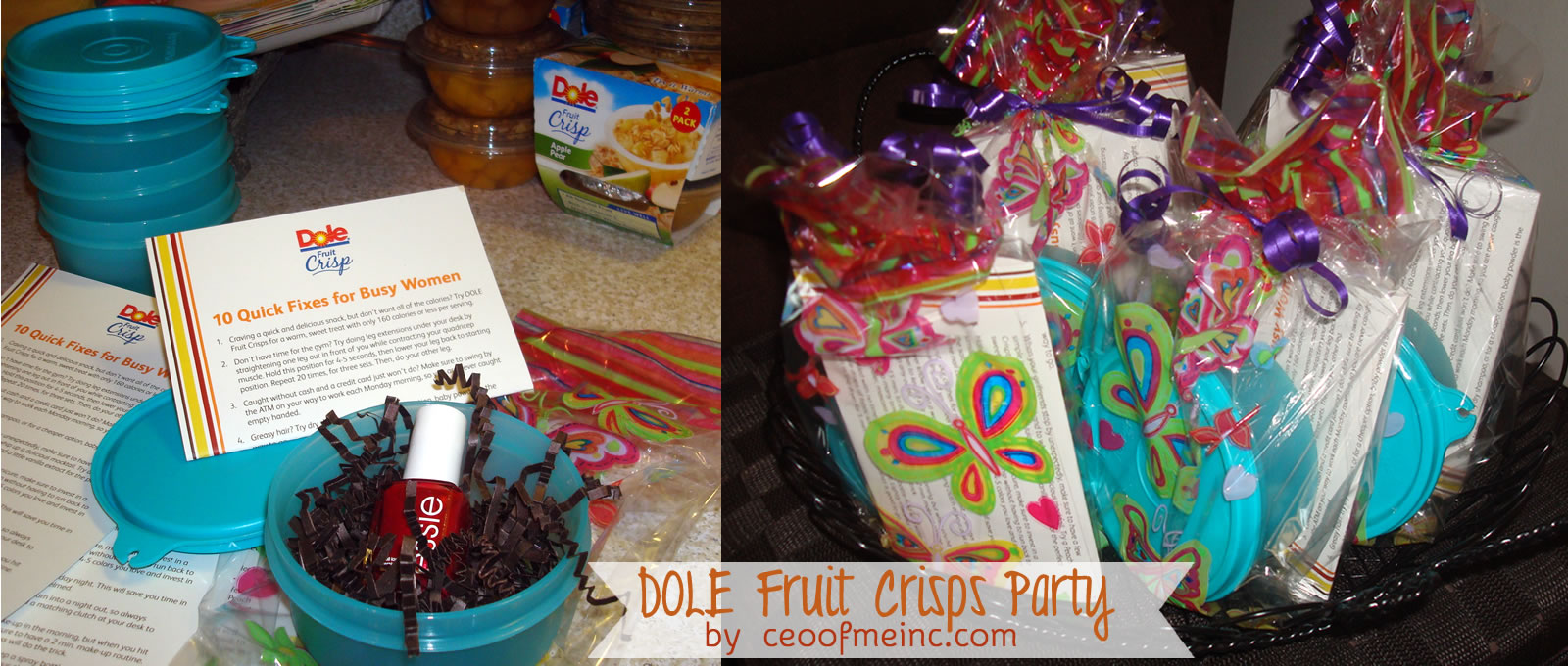 DOLE Fruit Crisps Party Swag Bags