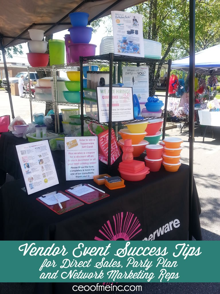 Vendor Event Success Tips For Direct Sales Home Party