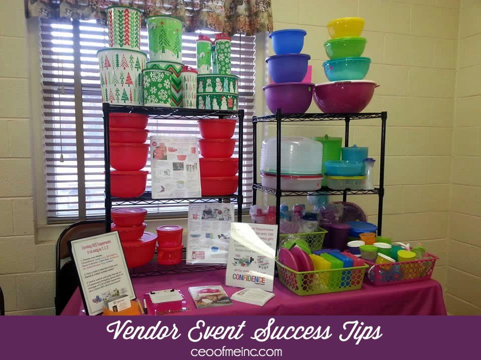 Vendor event success tips for direct sales home party for Vendor craft shows near me