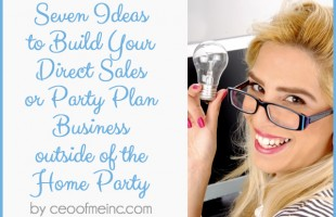 direct sales and home party plan business success tips
