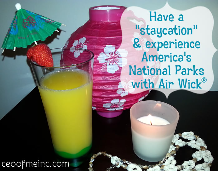 Have a staycation with Air Wick's National Park Collection