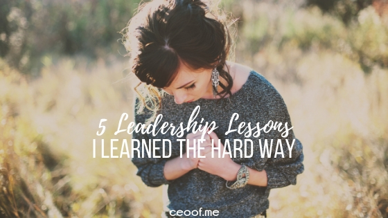 5 Team Leadership Lessons I learned the hard way in Direct Sales Network Marketing
