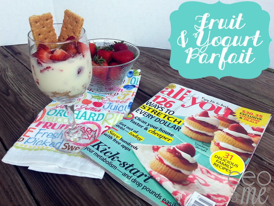 Fruit and Yogurt Parfait Recipe #LifeforLess