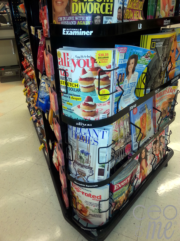 #lifeforless All You Magazine available at numerous stores