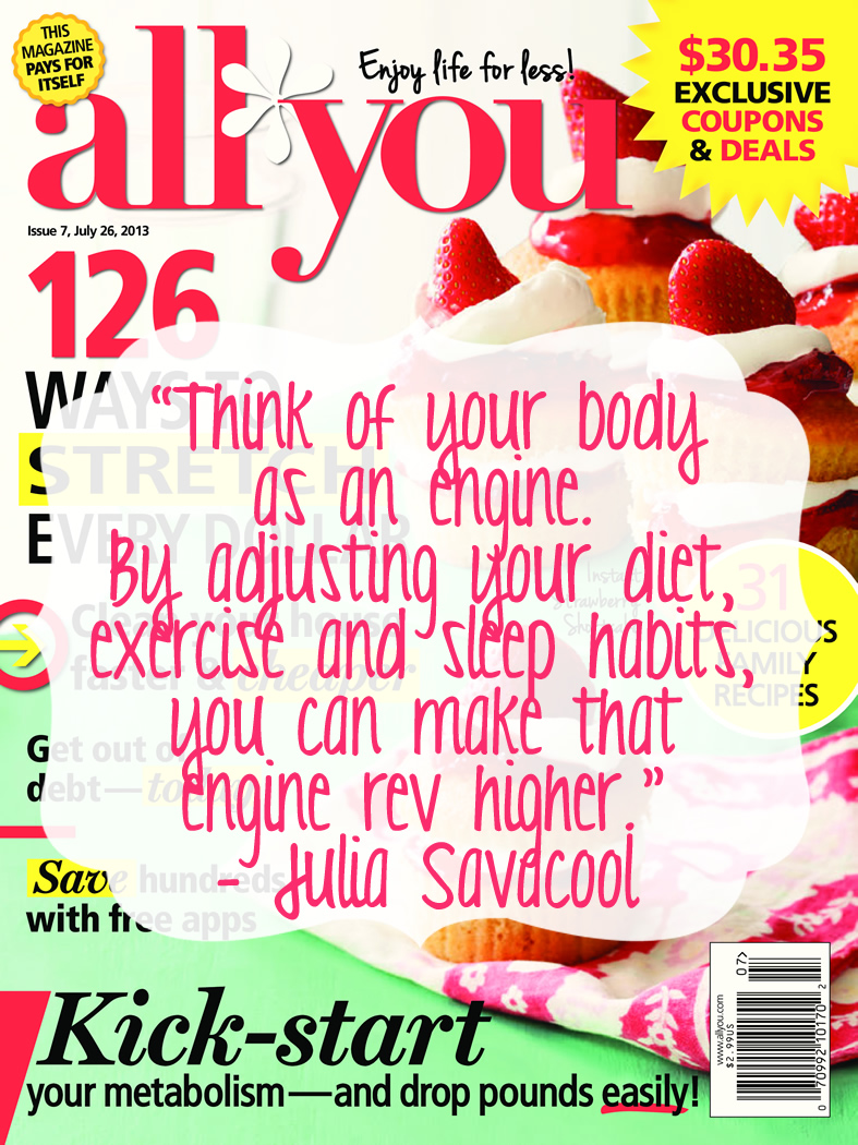 All You Magazine Healthy Living #LifeforLess