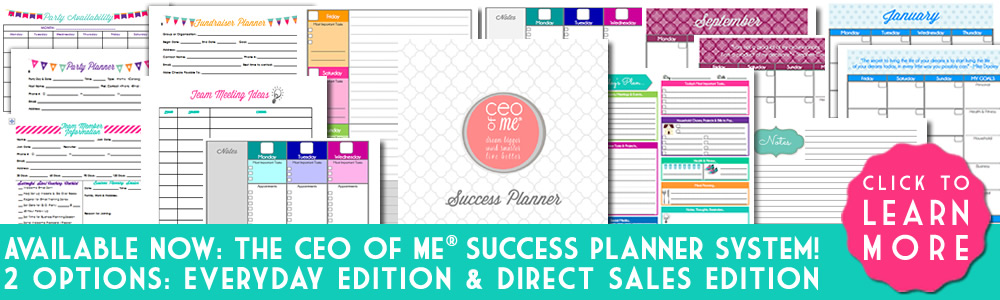 CEO of Me Success Planner System