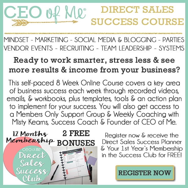 Direct Sales Success Course by CEO of Me