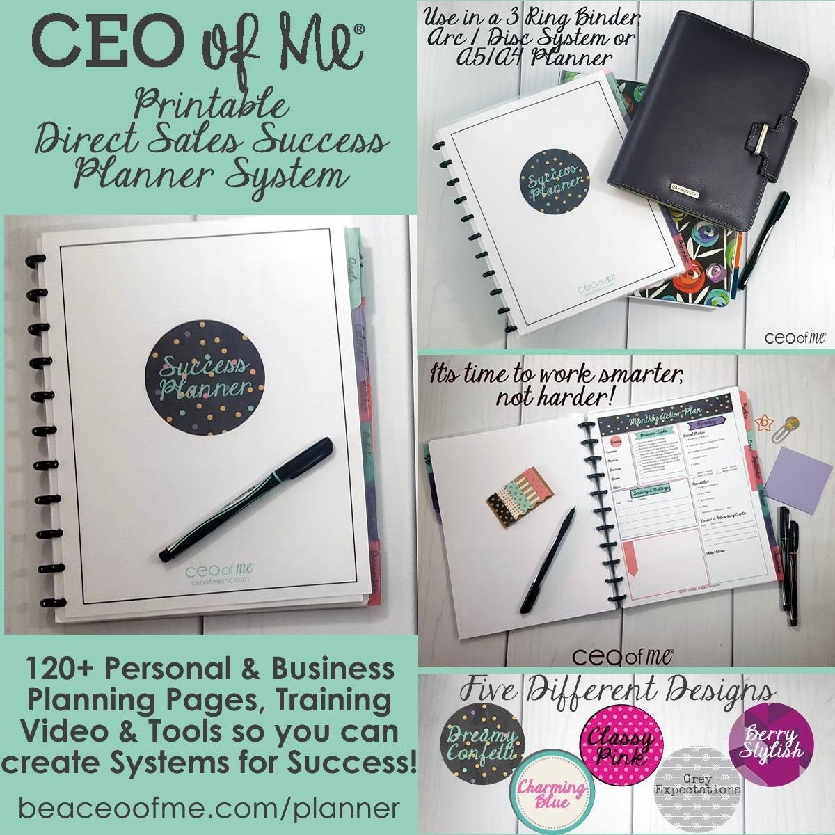 graphic regarding Free Printable Direct Sales Planner named Even more excellent free of charge printable planners!