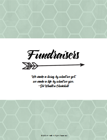 Section 7 - Fundraisers