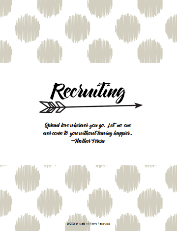 Section 8 - Recruiting