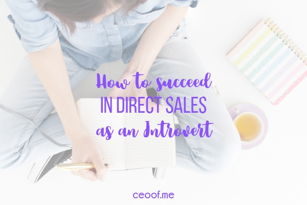 How to succeed in direct sales network marketing as an introvert