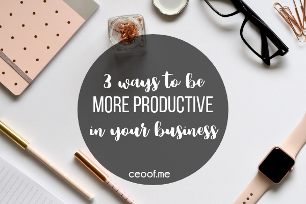https://ceoof.me/3-ways-to-be-more-productive-in-your-direct-sales-business/