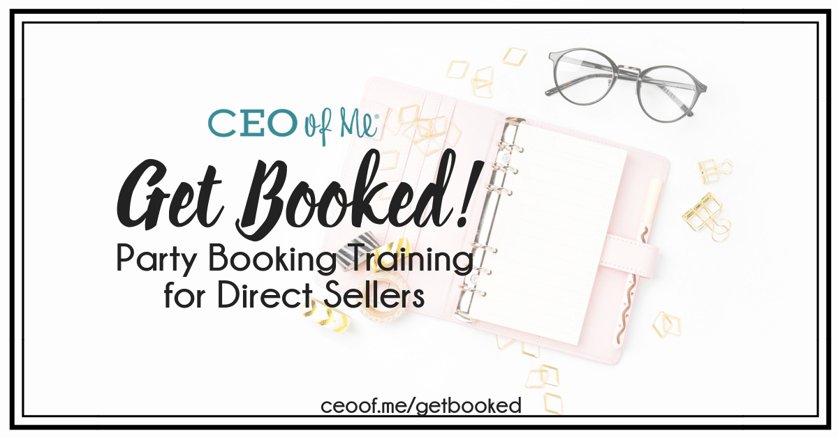 Bookings Training How to Book Parties for Direct Sales