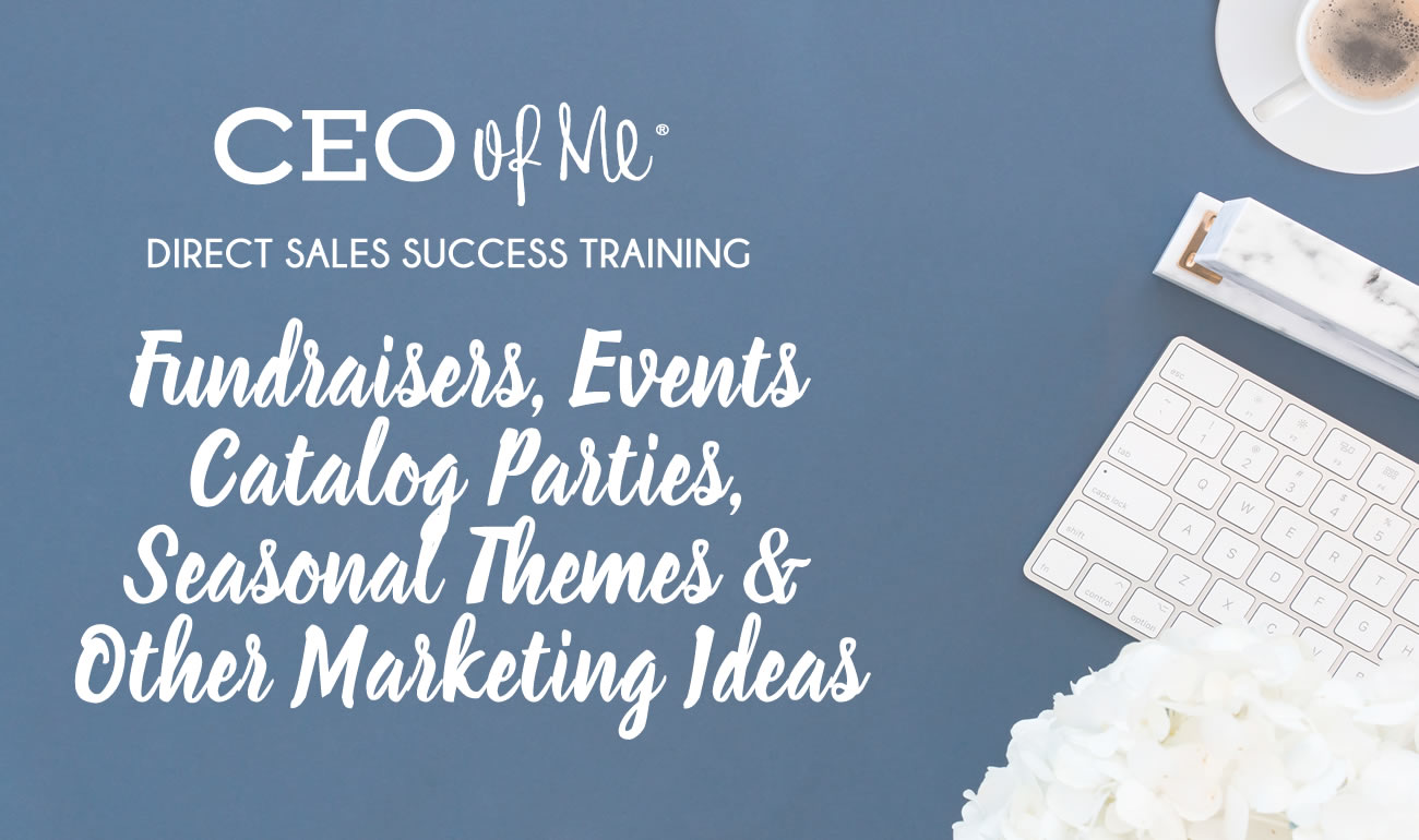 ceo of me fundraisers catalog parties seasonal other ideas