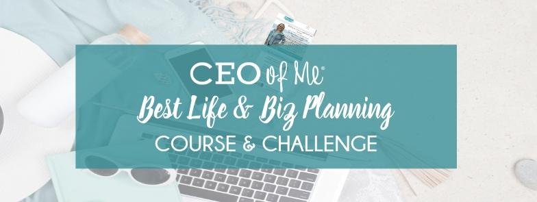 CEO of Me Best Life and Biz Planning Course and Workbook