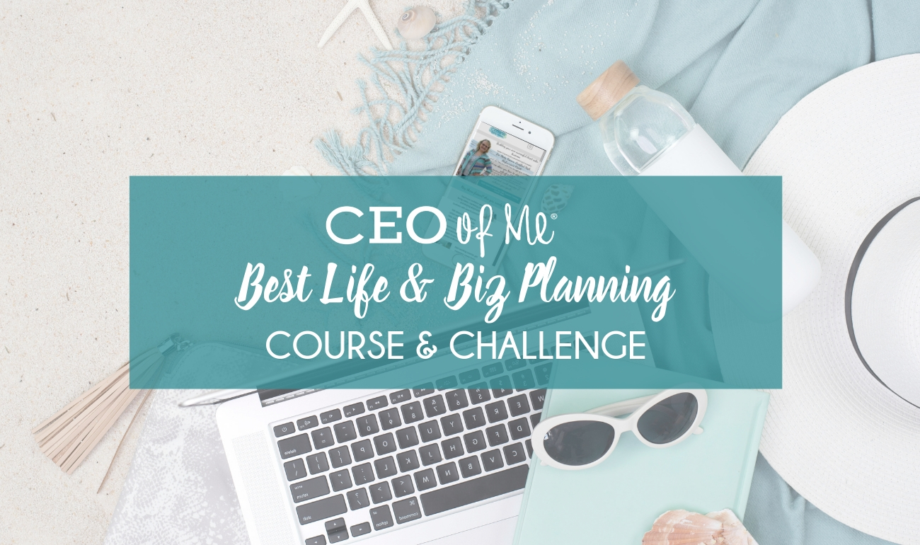CEO of ME Best Life & Business Course and Workbook
