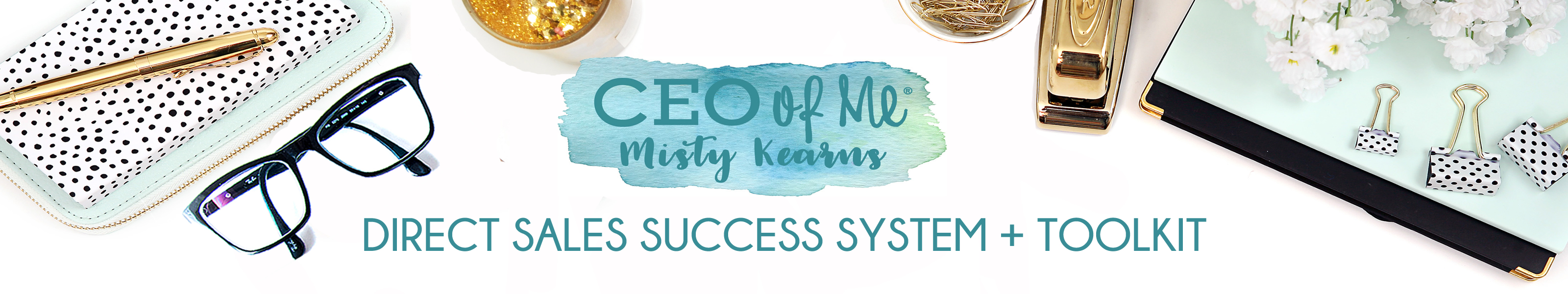 CEO of Me Direct Sales Success System Planner Business Toolkit