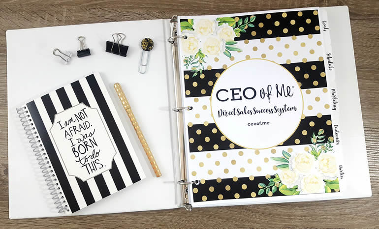 CEO of Me Success System Planner