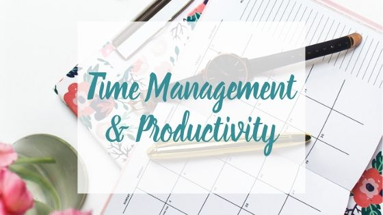 Time Management & Productivity