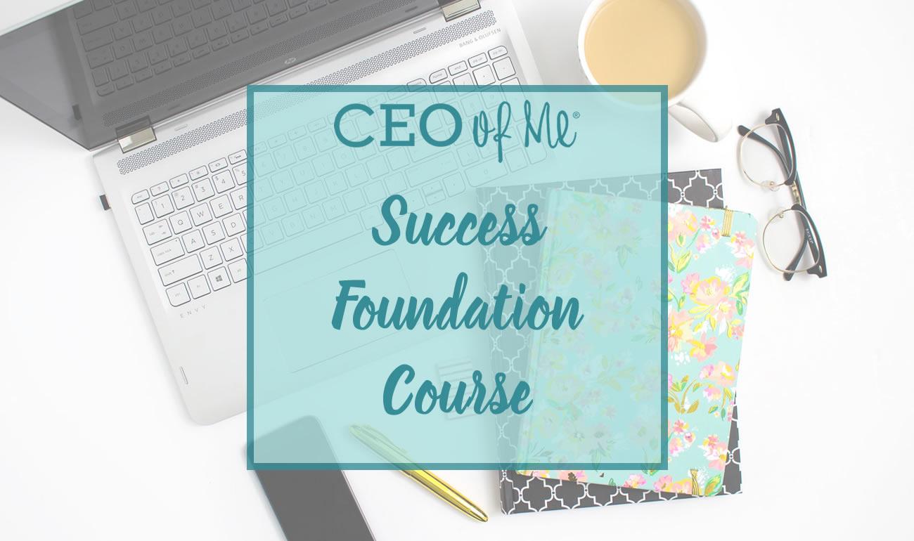 CEO of Me Success Foundation Course