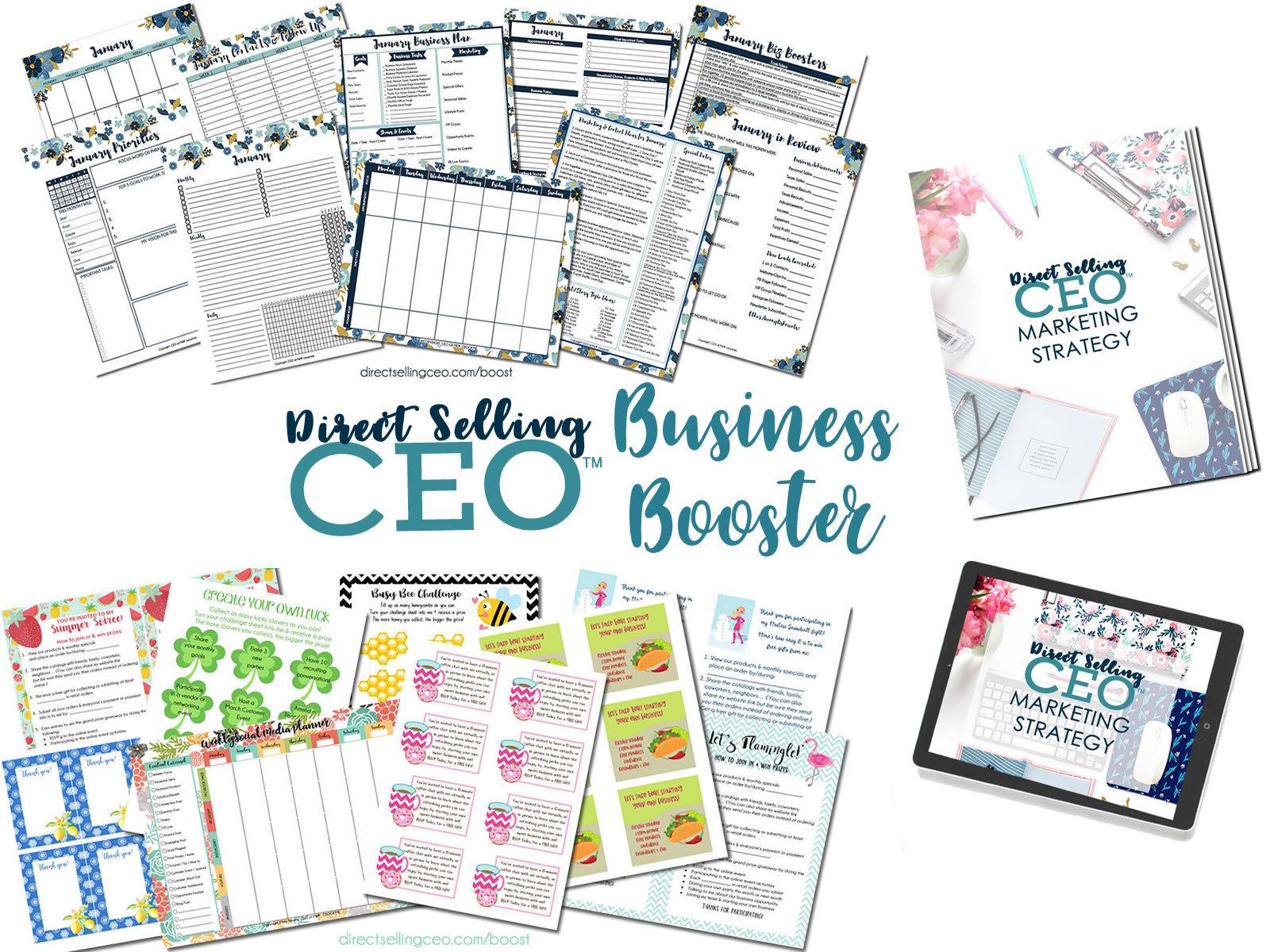 Direct Sales Success Booster Bundles & Marketing Courses