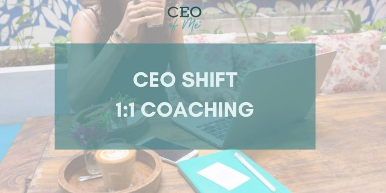 One on One Coaching with Misty, CEO of Me